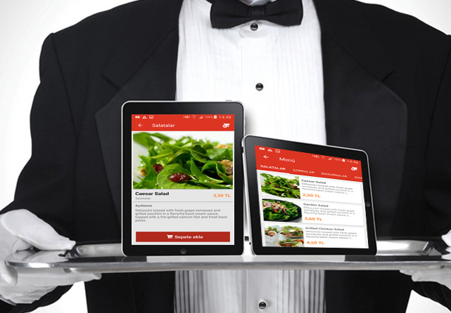 Digital Tablet Menu For Cafe And Restaurants